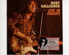 CD RORY GALLAGHERLive in europe1999 EX (A0917)