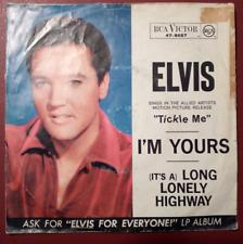 """7""""  Elvis Presley -RCA- 47-8657 Long lonely highway"""