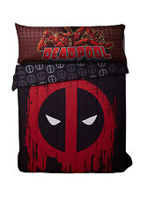 "Marvel DEADPOOL Body Pillow Cover 20"" x 54"" XL Pillowcase NWT"
