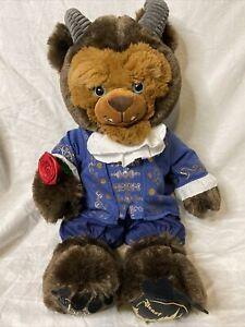 Build - A - Bear Disney Beauty and The Beast plush doll Beast