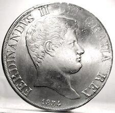 NAPOLI-DUE SICILIE,Ferdinando II (120 Grana 1834)