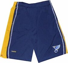 St Louis Blues Youth Reebok Apparel Boys Shorts 8-20 New $35 New tags