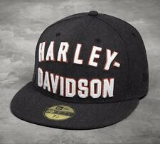HARLEY-DAVIDSON Basecap NEW ERA 59Fifty Capuchon 7 3/8 pouces 99461-17vm/000 l