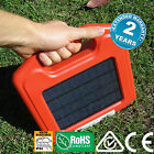 5KM Solar Electric Fence Energiser, Lithium Battery, All-in-One Energizer!