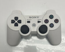 Sony Playstation 3 PS3 Genuine SIXAXIs Dual Shock Wireless Controller White