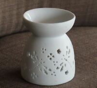 Dragonfly Aromatherapy Oil Burner, White, Porcelain ~ Omni New Age