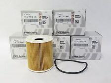 Lot of (5) OEM Mini Cooper Oil Filter Elements R50 R53 R52 Cabrio 11427512446