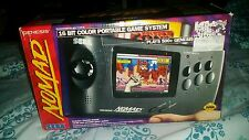 Sega Nomad Genesis Black Handheld CIB ● MD battery attach AV AC ADAPTOR NICE !