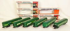 LIONEL #6-9530-34 & 6-19001 SET OF 6 SOUTHERN CRESCENT LIMITED CARS-EX+ IN OBS!