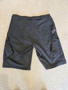 Fox Ranger Mountain Bike 12 Inch Shorts - Size 36 Dark Grey