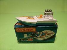 MATCHBOX 5 SUPERFAST - SEAFIRE SPEED BOAT - VERY GOOD IN BOX