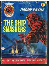LION PICTURE LIBRARY NO 7 -1967 PADDY PAYNE IN THE SHIP SMASHERS