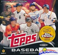 2014 Topps Baseball EXCLUSIVE Factory Sealed MEGA Box! Includes Chrome Update!