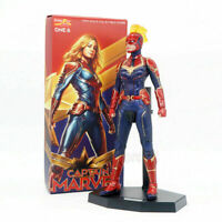 "Crazy Toys Avengers Captain Marvel 1/6 Scale 12"" PVC Action Figure Statue Model"
