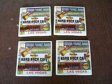 Hard Rock Cafe Ceramic Coasters Lot of 4