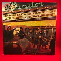 The Beatles Reel Music 1982 UK Vinyl LP +Innere+Programm Exzellenter Zustand