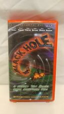 THE BLACK HOLE VHS WIDE SCREEN Collector's Edition 1999 DISNEY