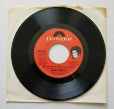 "JAMES BROWN Get On The Good Foot Part 1 and 2 POLYDOR 45 rpm VINYL 7"" RECORD"