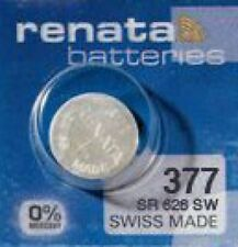 20 x Renata 377 Knopfzelle Uhrenbatterie V377 SR626SW SR 66 AG4 24mAh 1,55 V