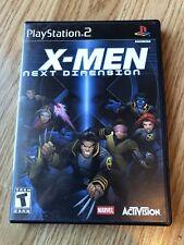 X-Men: Next Dimension (Sony PlayStation 2, 2002) PS2 Cib H1