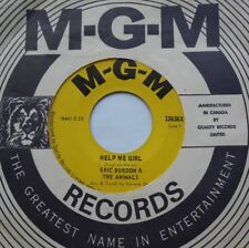 ERIC BURDON & THE ANIMALS Help Me Girl Ex to NM- CANADA 1966 NORTHERN SOUL 45