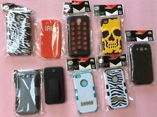 Phone cases samsung galaxy S3/S4, iphone 4/4s, 5/5 cases 9 in all one price