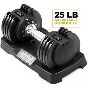 Adjustable Dumbbell, Single - Available in 25lb & 55lb