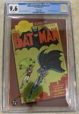 MILLENNIUM EDITION: BATMAN #1 (2001) CGC 9.6 Reprints Batman #1 (DC Comics)!!