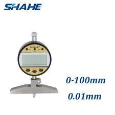 New  SHAHE Electronic indicator Digital depth gauge  0-100mm  date output