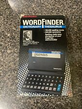 Electronic Hand Held SelecTronics Word Finder Dictionary Thesaurus WF-220 NEW