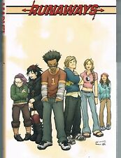 Runaways Volumes 1, 2 & 3 BIG HCs by Brian K Vaughan, Adrian Alphona Marvel OOP