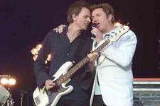 "12""*8"" concert photo of Duran Duran, London in 2010"
