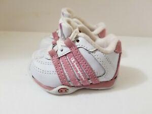 Champion Baby Girls 1W Pre-Walk White Pink Propel Tennis Shoes Sneakers 60382