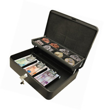 Cathedral Products CBDLBK 12-Inch The Ultimate Cash Box Secure Lock with Coin Tr