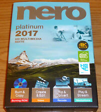 Nero 2017 Platinum PC NEW!