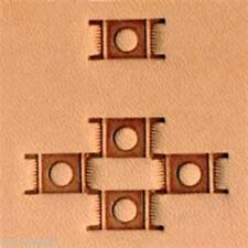"X595 Craftool Basketweave Leather Stamp - 7/16"" x 1/4"""