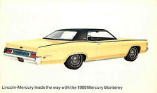 Advertising Postcard 1969 Lincoln-Mercury Monterey