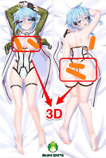 Sword Art Online Asada Shino dj0 Anime Dakimakura 3D butt & 3D breast pillowcase