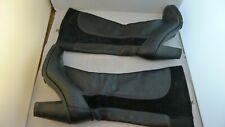 Timberland Chauncey:20664 Earthkeepers black heeled knee high boots size UK 6.5