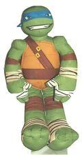 """Leonardo Teenage Mutant Ninja Turtle Plush BANDAI Large 24"""" Blue Stuffed Animal"""