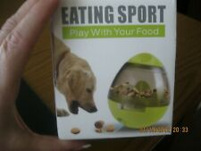New Dog treat toys - Eatting Sport Play with your food- Red