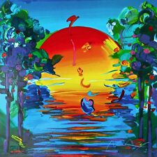 Better World (Retro Suite I) Limited Edition Silkscreen Peter Max -SIGNED w/COA