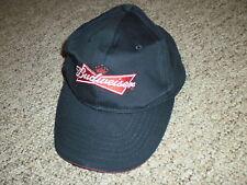 Budweiser beer dark blue adjustable hat cap 100% cotton Bud