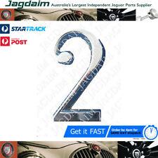 "New Jaguar XJ6 Series 2 & XJ12 Series 1 & 2 ""2"" Boot Badge BD38329"