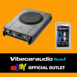 """Focal iBus20 8"""" 20cm Active Under Seat Amplified Subwoofer 150W + Wiring Kit 8G"""