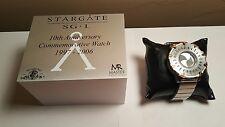 stargate SG-1 10th anniversary crew gift watch