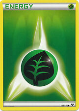 4x Pokemon XY Grass Energy 132/146 Common Card