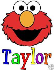 ELMO FACE PERSONALIZED -BIRTHDAY - FAVORS T-SHIRTS