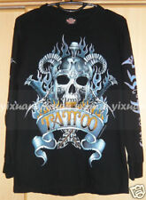 Tattoo Prints Long Sleeve Tee