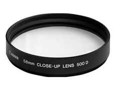 JP NEW Canon 58mm close-up lens 500D made in Japan, Macro Close Up lens  Filter
